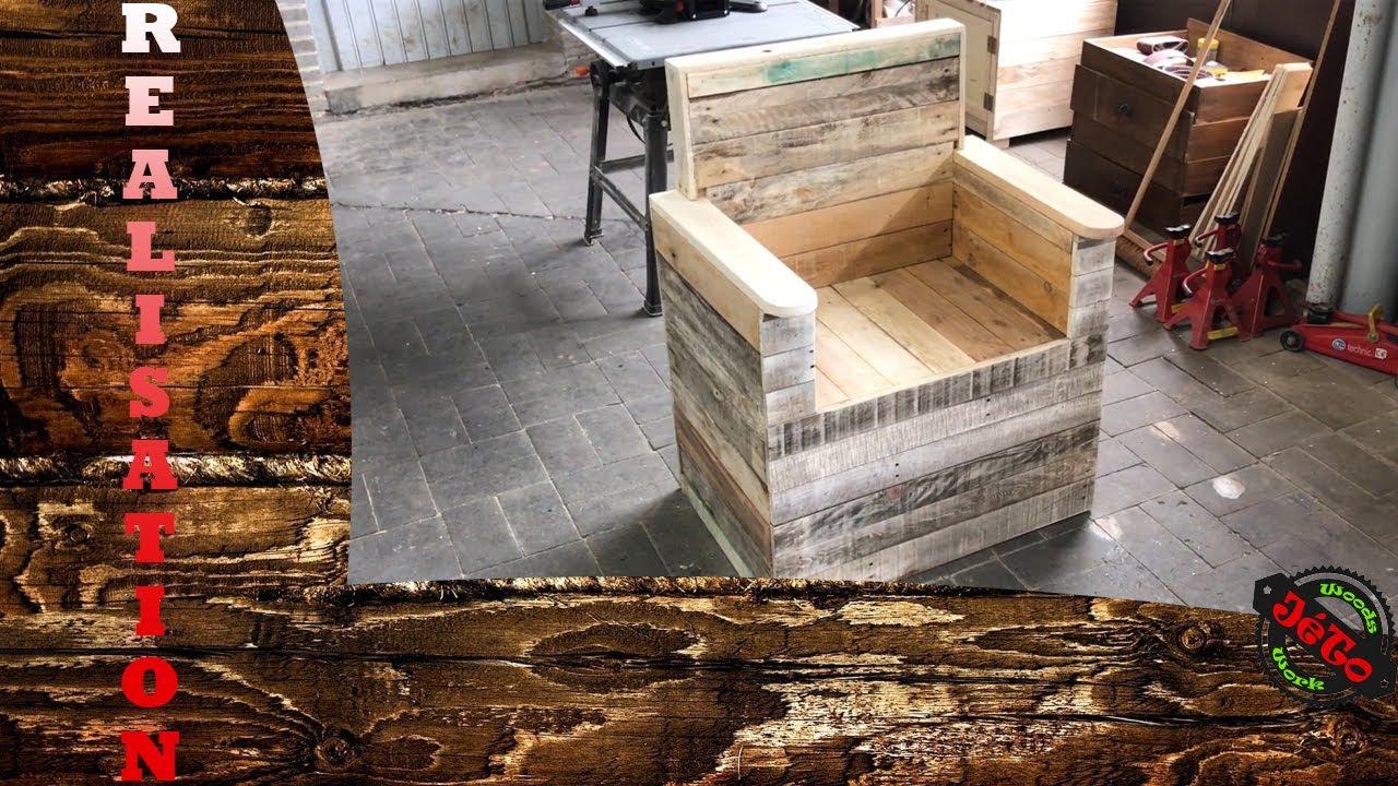 [DIY] Comment faire un fauteuil en bois de palettes