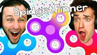 FIDGET SPINNER GAME?! Spinz.io CHALLENGE!! thumbnail