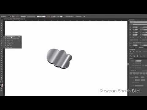 Silver Effect in Adobe Illustrator