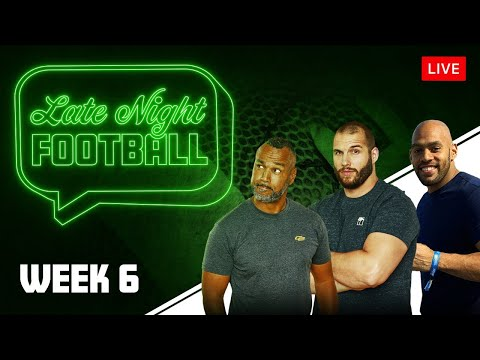 Late Night Football Week #6 mit Coach Esume, Björn Werner & Kasim Edebali