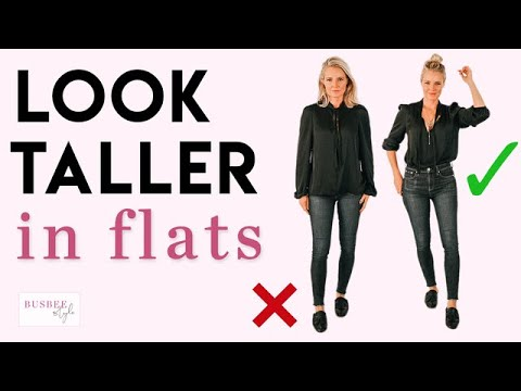 Quick and *EASY* Styling Tricks to Look Taller in Flats Fashion Over 40 Petites