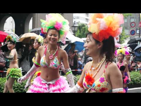 神戸サンバチーム(1)in神戸祭り2013