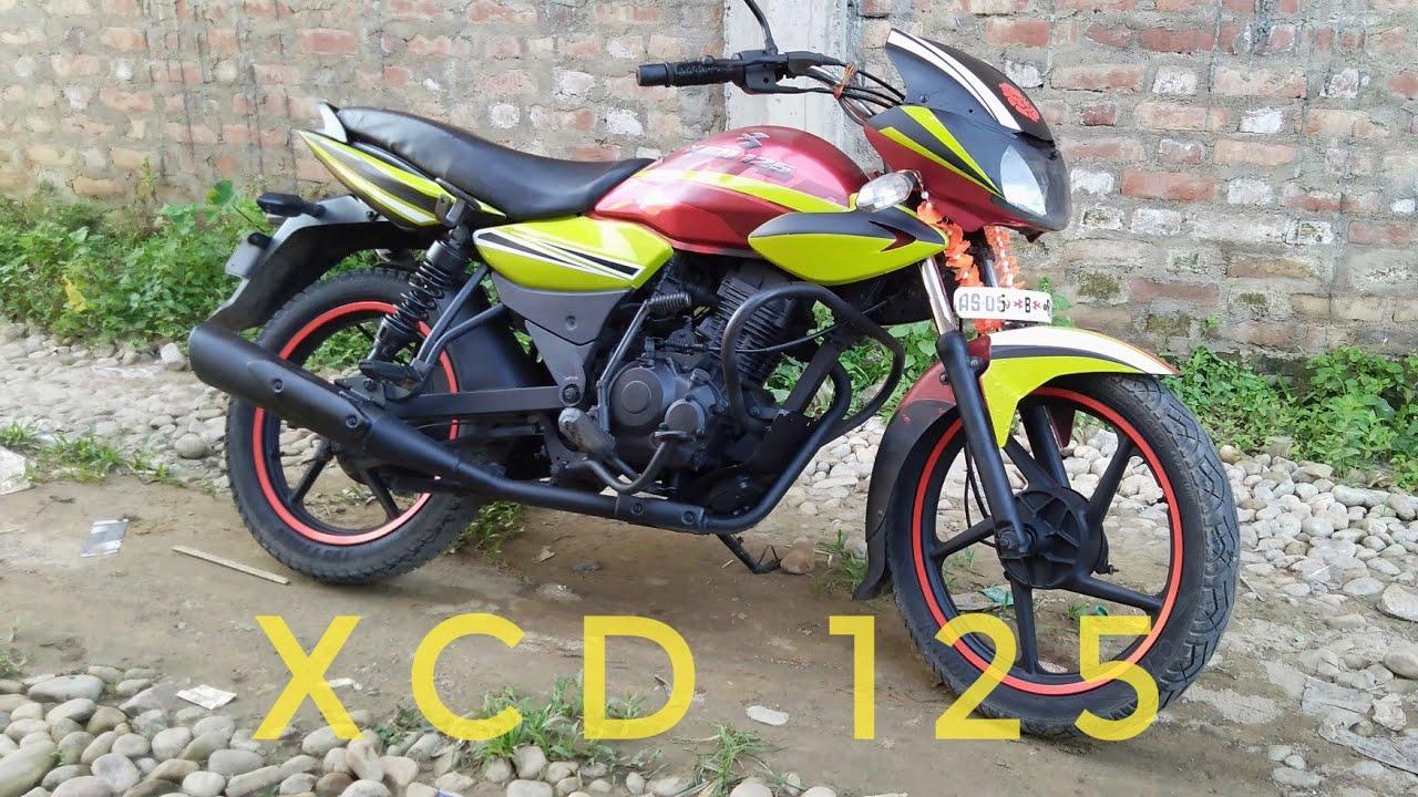 Bajaj Xcd 125 Graphics New Looks Youtube