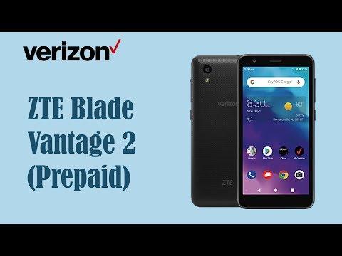 ZTE Blade Vantage 2 Verizon Wireless ( New Prepaid Verizon Phone 2019)