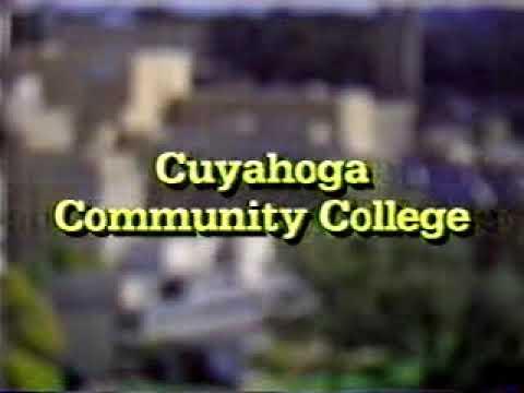 WVIZ Cuyahoga Community College Underwriting Credit Slide Used as Filler (1992)