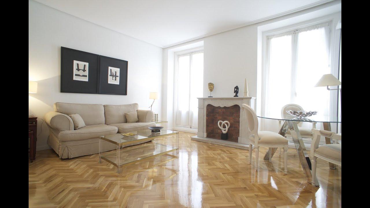 M 41 00450 alquiler piso amueblado 2 dormitorios en madrid barrio salamanca junto cibeles - Alquiler piso en salamanca ...