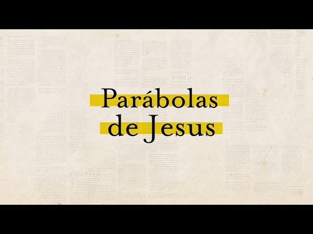 PARABOLAS DE JESUS - 4 de 7 - O Bom Samaritano