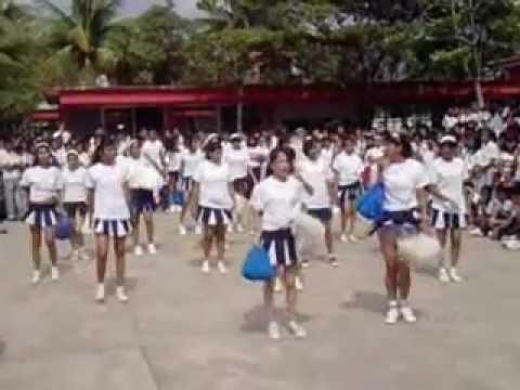 Porristas de la Esti 99 en Veracruz