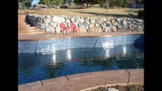 Sacramento Pool Builder Jim Chandler Pools - Tile, Deck & Finish
