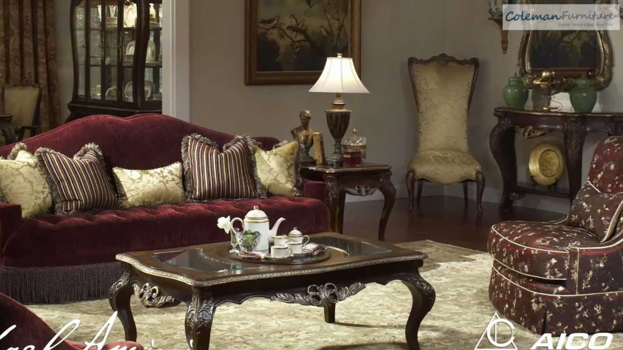 Imperial court living room collection from aico furniture - Aico living room furniture collection ...
