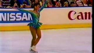 Debi Thomas (USA) - 1987 World Figure Skating Championships, Ladies' Long Program