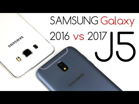 Samsung Galaxy J5 2016 vs Galaxy J5 2017 - Porównanie / Test / Opinie / Comparison