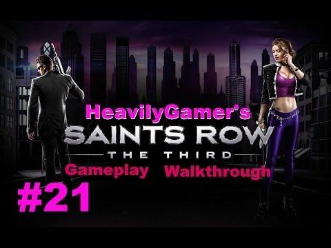 Saints Row The Third Gameplay Walkthrough Part 21:Stilwater Blues,Mi Name Is Cyrus Temple