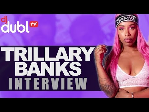 Trillary Banks Interview - Coming for the throne! Nicki Minaj vs Cardi B, being expelled from school