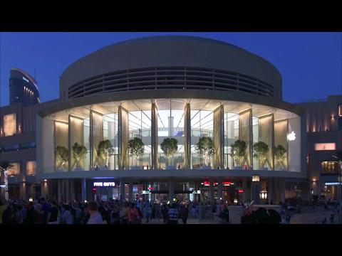 Foster + Partners' Apple Mall Dubai