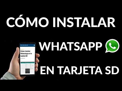 Cómo Instalar WhatsApp en la Tarjeta SD