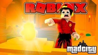 ROBLOX - MAD CITY, PYRAMID HEIST RAGE!!