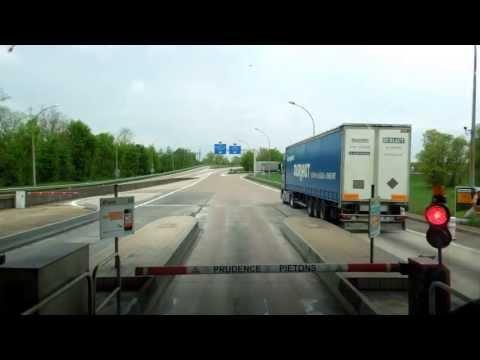 DAF 510 NEVE-TRANS BELGIUM IN FRANCE MET OPEN PIJP