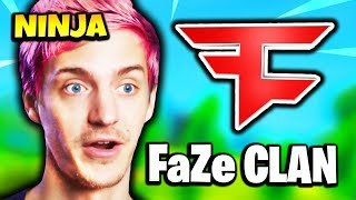NINJA TALKS ABOUT JOINING FaZe CLAN | Fortnite Daily Funny Moments Ep.164