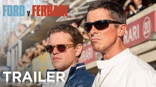 FORD v FERRARI | Official Trailer [HD] | 20th Century FOX