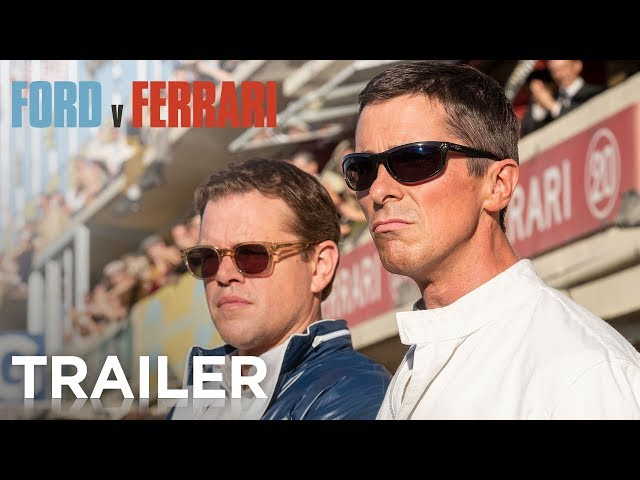FORD v FERRARI | Official Trailer | 20th Century FOX