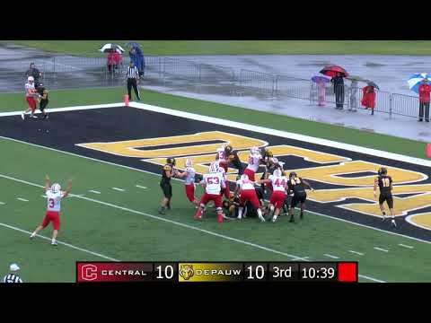 September 8, 2018 - Iowa's Central College Spoils DePauw's Football Opener