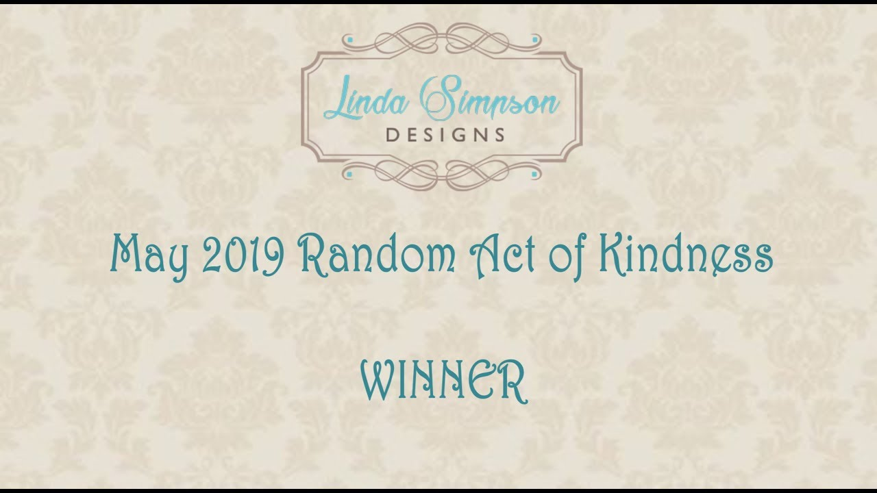 Random Act of Kindness May Winner