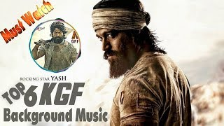 TOP 6 KGF Background Music | Free DOWNLOAD NOW | KGF BGM | KGF Songs | Yash Movies BGM | MBJ BGM