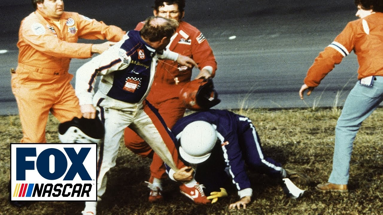 How the 1979 Daytona 500 fight between two Hall of Famers helped ignite NASCAR