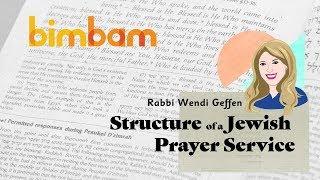 Structure of the Jewish Prayer Service - Intro to Tefillah with Rabbi Wendi Geffen