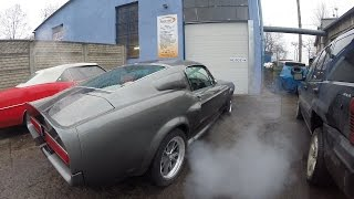 Auta W Pigułce - Ford Mustang Shelby GT500 Eleanor Fastback 1967 walkaround and exhaust