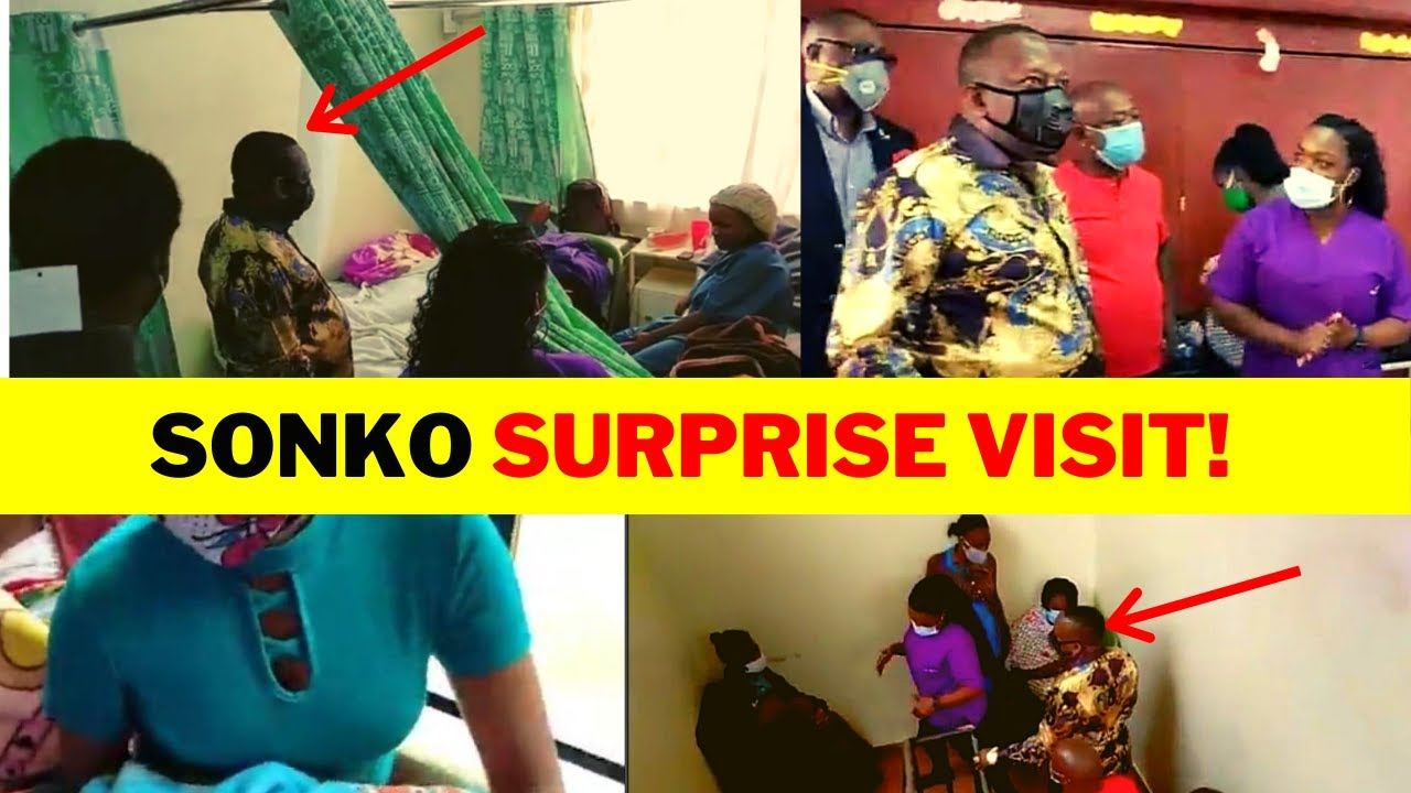 Governor Mike Sonko SURPRISE VISIT to Maternity Ward in Nairobi Kenya