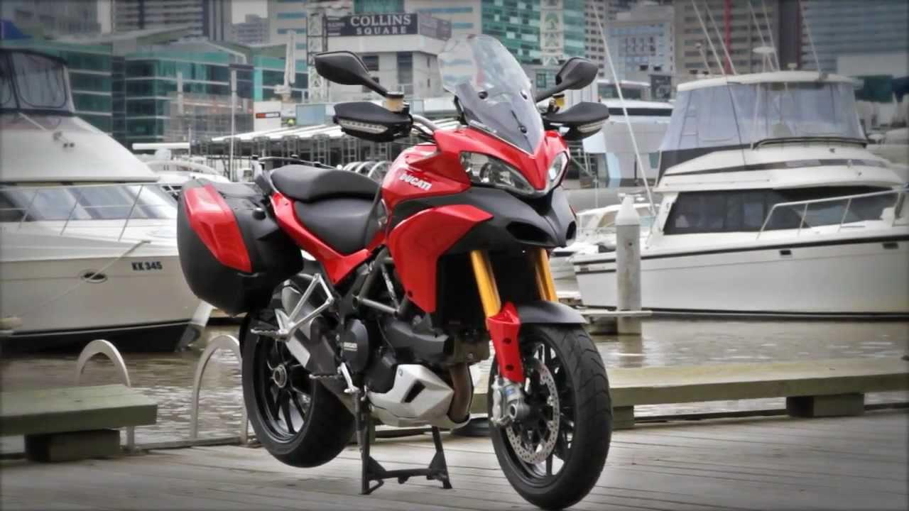 Ducati Multi... Ducati Youtube Multistrada 2015