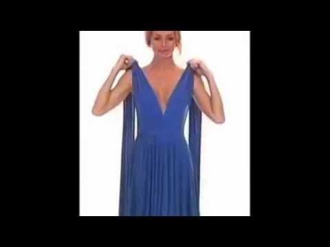 Как можно завязывать платье трансформер