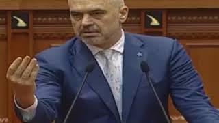 Edi Rama ia ben lulzim bashes tet me dy sot ne parlament