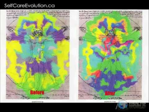 Before & After Electromagnetic Field - Amega Energy Wand Research