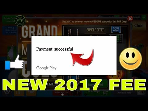 8 Ball Pool Unlimited Coins And Cash With Simple Real Trick Bypass Google Play 2017 Fresh