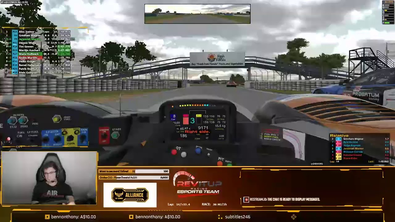 Sebring in the next win | iRacing Le Mans Series | Silverstone | LMP2