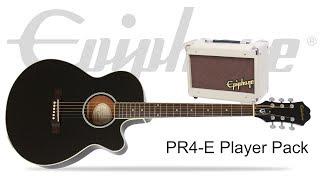 Epiphone Ltd Ed PR-4E Player Pack