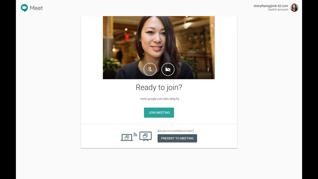 Introduktion till Google Meet