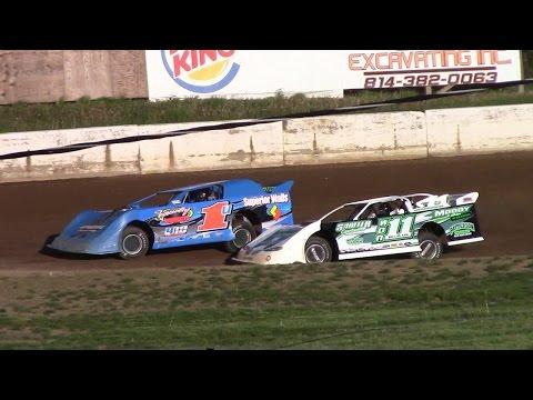 Super Late Model Heat Three | Eriez Speedway | 5-14-17