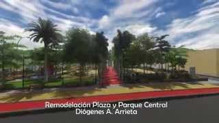 REMODELACIÓN  PLAZA Y PARQUE CENTRAL DIÓGENES A. ARRIETA - SAN JUAN NEPOMUCENO, BOLÍVAR