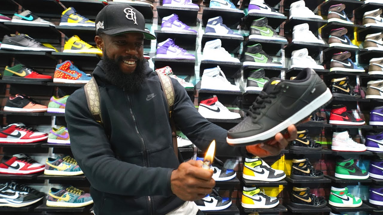 WE CAN'T BELIEVE CASHNASTY DID THIS AT COOLKICKS