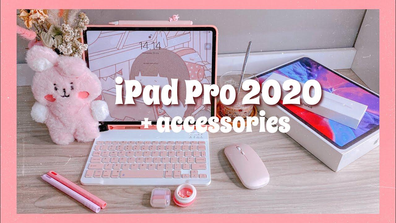 "eng Unboxing iPad PRO 2020 12.9"" (gen 4) + Accessories ..."