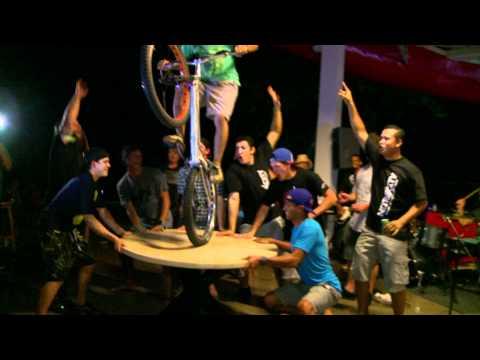 Nitro Circus Crew Parties in Nitro City, Panama