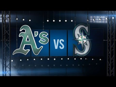 4/8/16: Coghlan's blast powers A's over Mariners