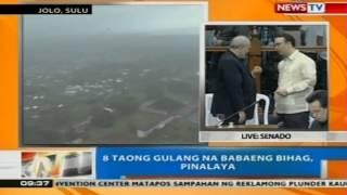 NTG: 8 taong gulang na babaeng bihag sa Jolo, Sulu, pinalaya
