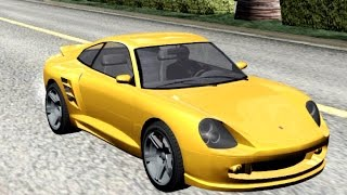 #543 GTA V Pfister Comet | New Cars / Vehicles in GTA San Andreas[60 FPS]