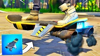 HOW TO HAVE THE HOVERBOARD ON FORTNITE! #17