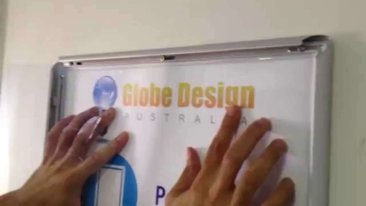 how to install snap lock poster frames in less than 60 seconds by globe design pty ltd